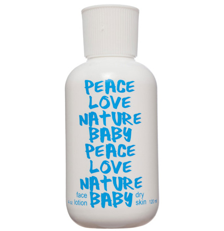 PEACE LOVE NATURE BABY - Rose Petal