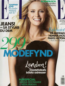 ELLE Sweden <br> April 2009