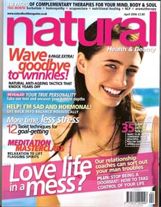 Natural Health &amp; Beauty <br> April 2006