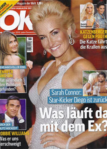 OK  Magazine Germany <br> September 2010