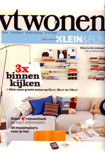 Vtwonen Magazine <br> January 2011